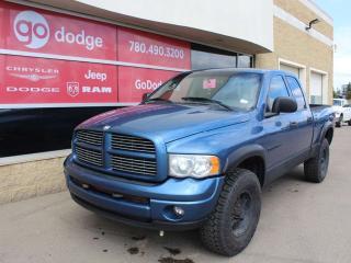 Used 2004 Dodge Ram 1500 SLT 4X4 Quad Cab for sale in Edmonton, AB