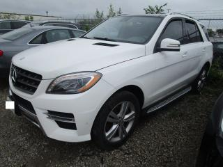 Used 2015 Mercedes-Benz M-Class ML-350 BLUETEC for sale in Toronto, ON