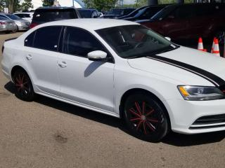 Used 2016 Volkswagen Jetta Sedan TRENDLINE: GREAT CONDITION, BACKUP CAM, BLUETOOTH, HEATED SEATS AND MORE for sale in Edmonton, AB