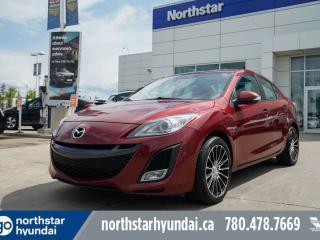 Used 2010 Mazda MAZDA3 GT AUTO/HEATEDSEATS/ALLOYS/CRUISE/FOGLIGHTS for sale in Edmonton, AB
