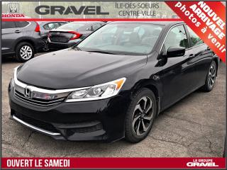 Used 2016 Honda Accord Lx - A/c - Mags for sale in Ile-des-Soeurs, QC
