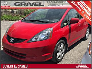 Used 2014 Honda Fit Lx - A/c for sale in Ile-des-Soeurs, QC