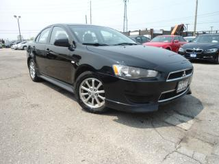 Used 2014 Mitsubishi Lancer AUTO FACTORY WARRANTY NEW TIRES+ BRAKES B-TOOTH PW for sale in Oakville, ON