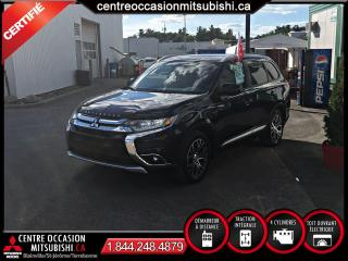 Used 2017 Mitsubishi Outlander ES TOURING 4X4 TOIT + 18 PO + FOGS for sale in Blainville, QC
