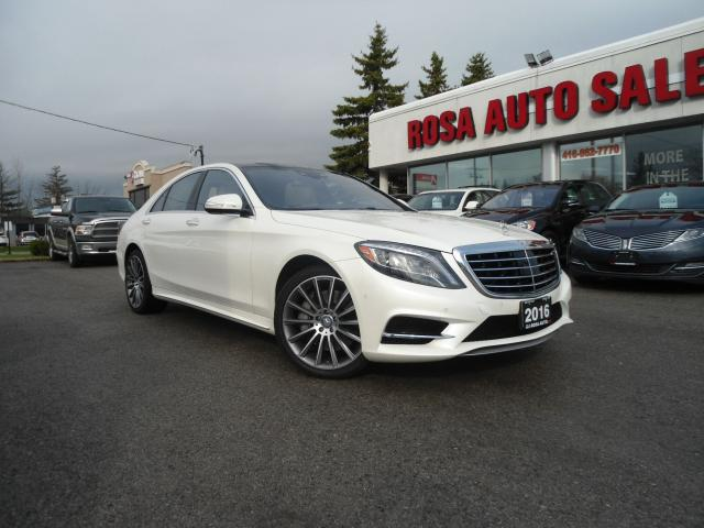2016 Mercedes-Benz S-Class S 550 LOADED