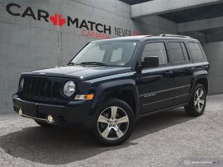 Used 2017 Jeep Patriot High Altitude / LEATHER / SUNROOF / for sale in Cambridge, ON