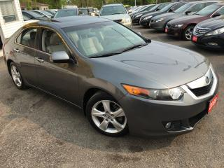 Used 2009 Acura TSX TECH PKG/ AUTO/ NAVI/ REVERSE CAM/ ALLOYS! for sale in Scarborough, ON