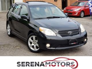 Used 2007 Toyota Matrix XR | MANUAL | SUNROOF | for sale in Mississauga, ON