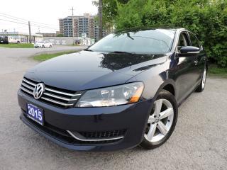 Used 2015 Volkswagen Passat LEATHER   SUNROOF   REV CAM for sale in BRAMPTON, ON