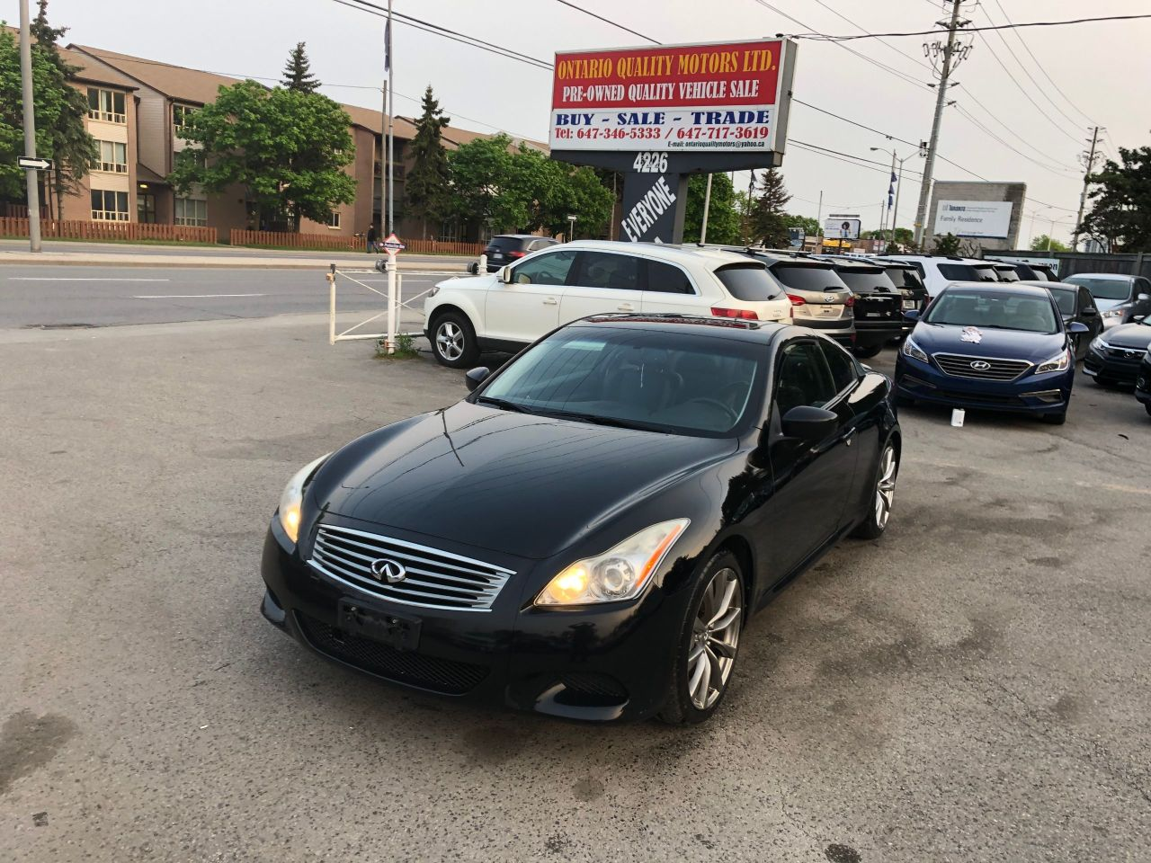 Ontario Quality Motors >> 2008 Infiniti G37 Ontario Quality Motors Ltd