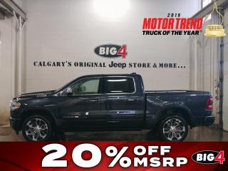 New 2019 RAM 1500 LARAMIE LONGHORN for sale in Calgary, AB