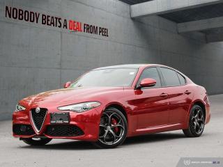 Used 2018 Alfa Romeo Giulia Ti-Q4 Performance*Pano Roof*Adaptive*Carplay*Race for sale in Mississauga, ON