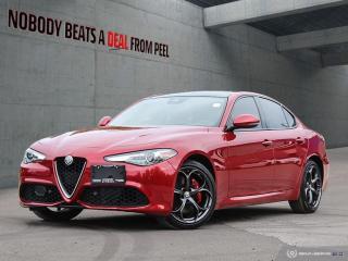 Used 2018 Alfa Romeo Giulia Ti-Q4 Performance*Roof*Adaptive Suspension*Race for sale in Mississauga, ON