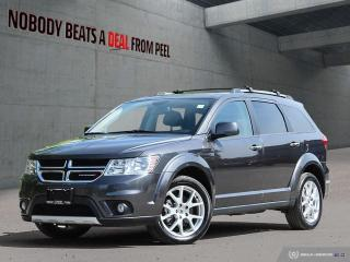 Used 2018 Dodge Journey GT*Nav*Back-Up CAM*Video Grp*PWR Sunroof* for sale in Mississauga, ON
