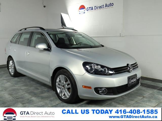 2011 Volkswagen Golf Wagon TDI Comfortline 6-Speed Alloys Bluetooth Certified