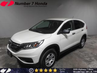 Used 2016 Honda CR-V LX| Backup Cam, Bluetooth, All-Wheel Drive! for sale in Woodbridge, ON