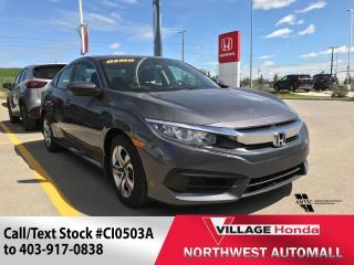 Used 2018 Honda Civic Sedan LX CVT for sale in Calgary, AB