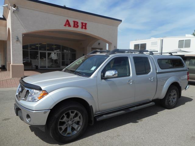 2018 Nissan Frontier LEATHER ROOF 12,100K