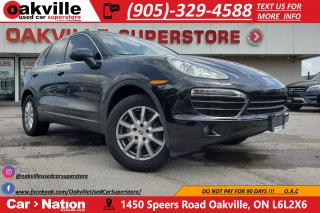 Used 2014 Porsche Cayenne DIESEL | PANO ROOF | NAVIGATION | BLUETOOTH for sale in Oakville, ON