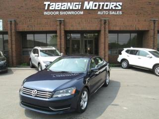 Used 2015 Volkswagen Passat COMFORTLINE | NO ACCIDENTS | LEATHER | SUNROOF | REAR CAM | for sale in Mississauga, ON