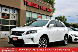 Used 2015 Lexus RX 350 NAVIGATION HEADS UP DISPLAY BACK UP CAMERA WOOD TRIM for sale in Toronto, ON