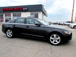 Used 2013 Audi A6 2.0T PROGRESSIV AWD Navigation Certified 2 YR Warranty for sale in Milton, ON
