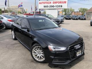 Used 2015 Audi A4 Quattro Komfort S-line Leather/Sunroof&ABS* for sale in Mississauga, ON