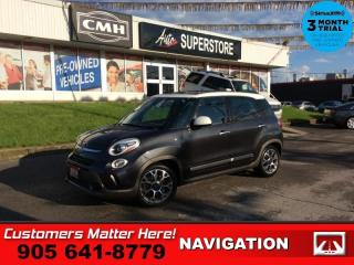 Used 2014 Fiat 500 L Trekking  NAV PANO-ROOF BLUETOOTH HTD-SEATS for sale in St. Catharines, ON