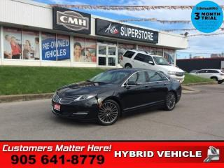 Used 2015 Lincoln MKZ Hybrid  HYBRID RESERVE TECH ADAP-CC NAV ROOF CAM P/TRUNK for sale in St. Catharines, ON