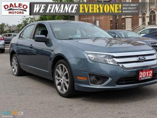 Used 2012 Ford Fusion SEL | LEATHER | HEATED SEATS | SAT RADIO for sale in Hamilton, ON