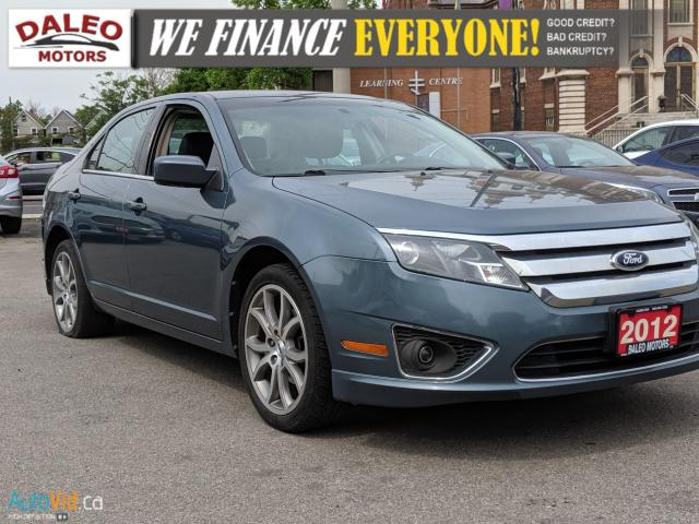 2012 Ford Fusion SEL | LEATHER | HEATED SEATS | SAT RADIO