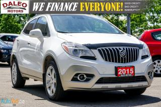 Used 2015 Buick Encore Premium | BACKUP CAM | HEATED SEATS | MOONROOF for sale in Hamilton, ON