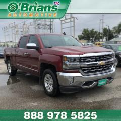 Used 2018 Chevrolet Silverado 1500 LTZ - Accident Free! w/Mfg Warranty, 4x4, Command Start, Leather for sale in Saskatoon, SK