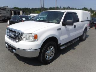 Used 2008 Ford F-150 XLT SuperCab with Canopy for sale in Burnaby, BC