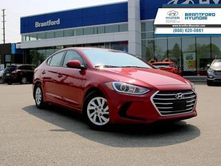 Used 2017 Hyundai Elantra - $104.21 B/W - Low Mileage for sale in Brantford, ON