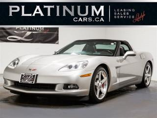 Used 2005 Chevrolet Corvette Heated LEATHER, Carbon Fiber TRIM, Push Start for sale in Toronto, ON