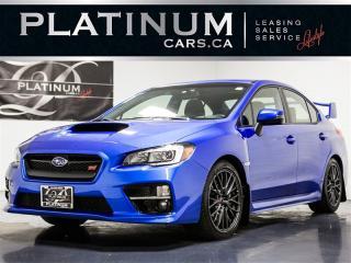 Used 2017 Subaru WRX STI SPORT, 6 Speed MAN, Ultrasuede SEATS, Camera for sale in Toronto, ON