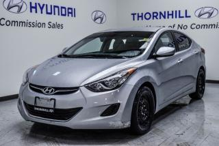 Used 2013 Hyundai Elantra GL  -  Cruise Control - Low Mileage for sale in Thornhill, ON