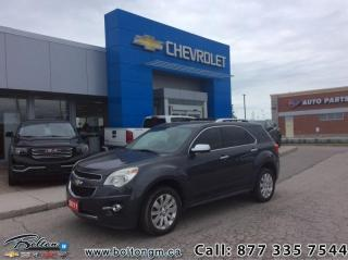 Used 2011 Chevrolet Equinox LTZ FWD 1SD  -  - Air - Power Windows - $160.69 B/W for sale in Bolton, ON