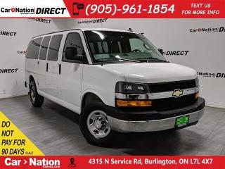 Used 2018 Chevrolet Express 2500 | 12-PASSENGER| BACK UP CAMERA| for sale in Burlington, ON