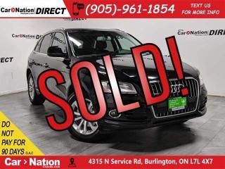 Used 2015 Audi Q5 2.0T Technik quattro| PANO ROOF| NAVI| for sale in Burlington, ON