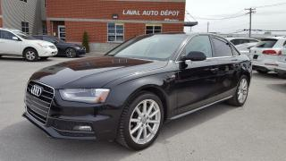 Used 2015 Audi A4 S-LINES AWD 2.0T for sale in Laval, QC