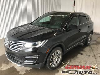 Used 2015 Lincoln MKC Reserve Awd Gps Cuir for sale in Trois-Rivières, QC