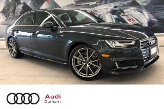 Used 2017 Audi A4 2.0T Technik + CarPlay | 360 Cam | S-Line for sale in Whitby, ON