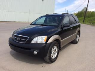 Used 2005 Kia Sorento 4 portes boîte automatique LX 4 RM for sale in Quebec, QC