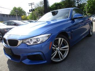 Used 2014 BMW 4 Series 435I XDRIVE|M-SPORT PKG|NAVI|85,000KM|SUNROOF for sale in Burlington, ON