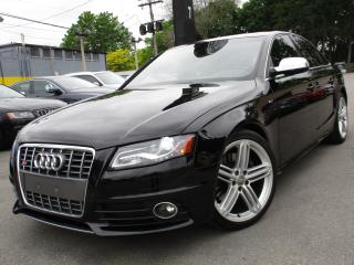 Used 2012 Audi S4 S4 ~ RED LEATHER INT ~ 107,000 KM ~ SUNROOF !! for sale in Burlington, ON