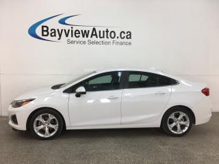 Used 2019 Chevrolet Cruze Premier - AUTO! ONSTAR! HTD LEATHER! ALLOYS! 15,000KMS! for sale in Belleville, ON