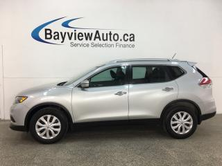 Used 2016 Nissan Rogue - BLUETOOTH! REVERSE CAM! 52,000KMS! PWR GROUP! for sale in Belleville, ON