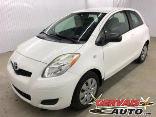 Used 2010 Toyota Yaris CE for sale in Trois-Rivières, QC